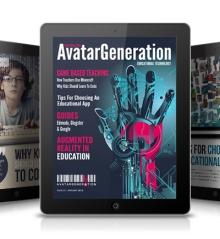 AvatarGeneration Launches EdTech IPad Magazine!