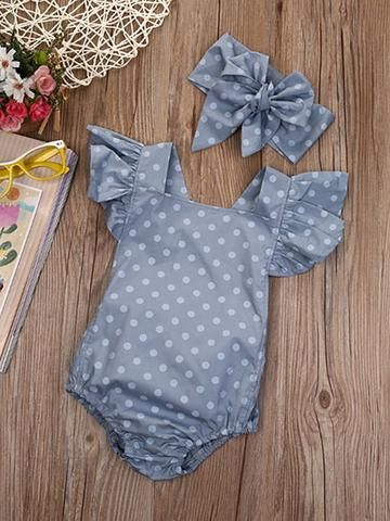 0ac7d2ed1 Polka dot romper with headband - 18 mo | trendsetting toddlers ...