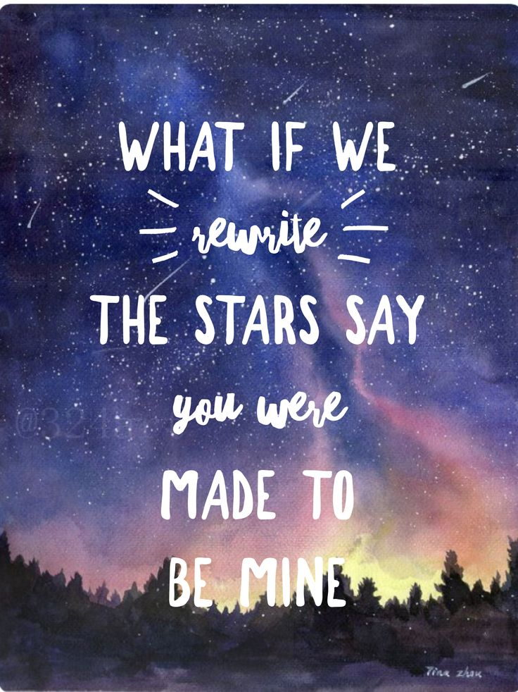 """The Greatest Showman Quote from """"Rewrite the Stars"""". By"""