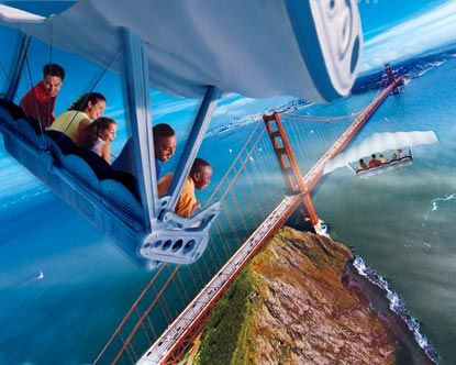 Soarin, Attraction at Epcot Disney World. Orlando, Florida, USA. Best ride ever! It has smells and everything.    GottaTinkle! Your answer to dirty toilets on your next Disney trip. www.gottatinkle.com