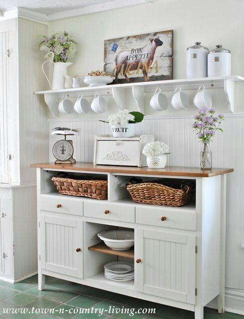 47 best Shabby Chic Küche images on Pinterest | Home ideas, Cuisine ...