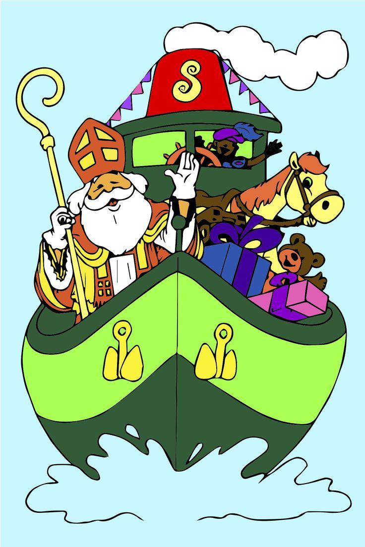 119 Beste Afbeeldingen Over Sinterklaas Op Pinterest