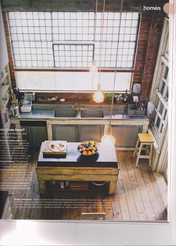 Great kitchen. The Inside Story: Nina Proudman's Home from TV Show 'Offspring'