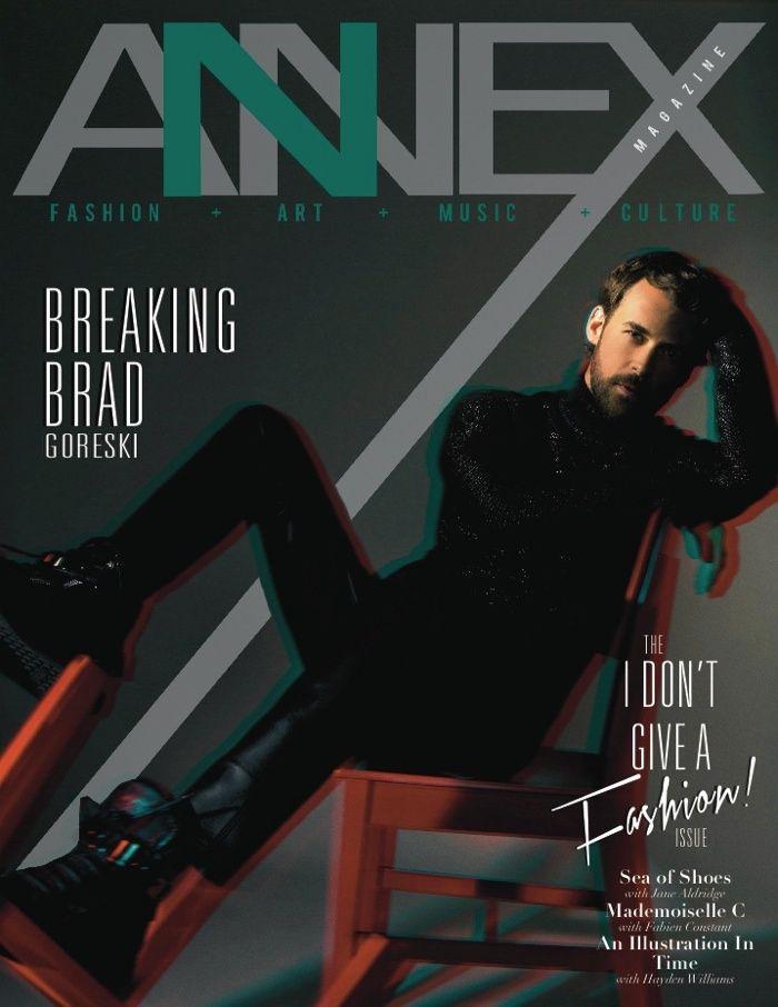 Brad Goreski Covers Annex Magazine