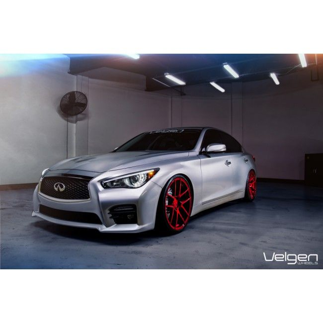 infiniti-q50 red wheels