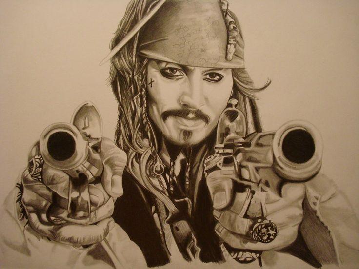 CAPTAIN JACK SPARROW by ARTIEFISHEL79.deviantart.com on @deviantART
