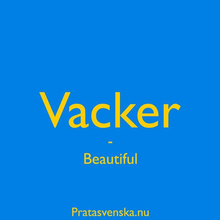 [vạk:er] ✨ #pratasvenska #swedish #words #svenska #learnswedish