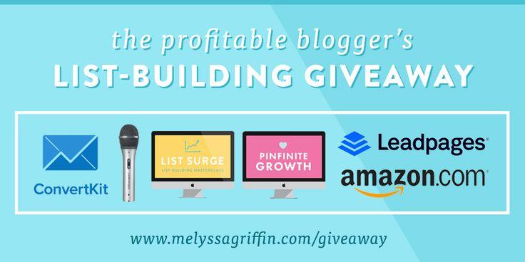 The Profitable Blogger's List-Building Giveaway!