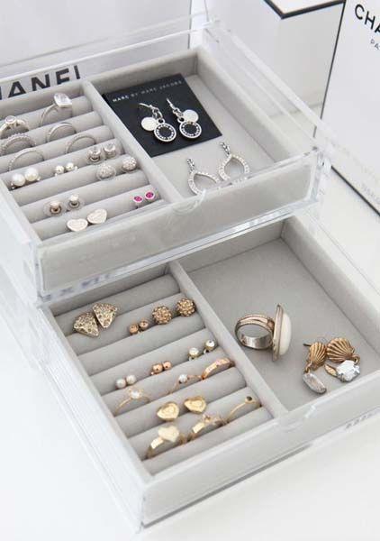 Decoração: Organizadores de bijuteria - Just Lia | Por Lia Camargo