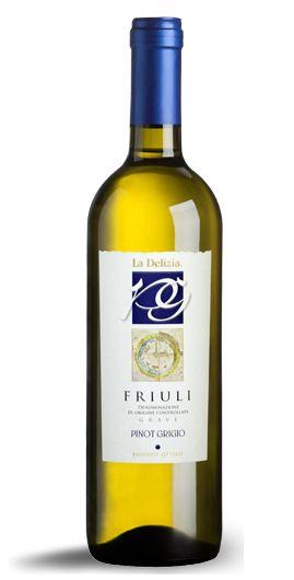 Pinot Grigio -  - La Delizia: produzione e vendita vini Chardonnay e Cabernet del Friuli, vini bianchi e rossi/production and sale Chardonnay and Cabernet wines of Friuli, white and red wines.