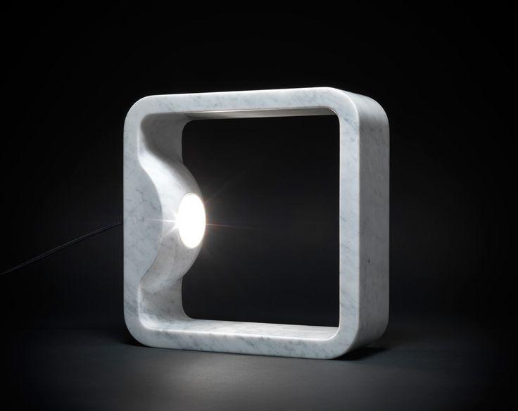 TATO   Dreamed and made in Italy   Quattrolati   Table Lamp   Design Hisham Kulhanek