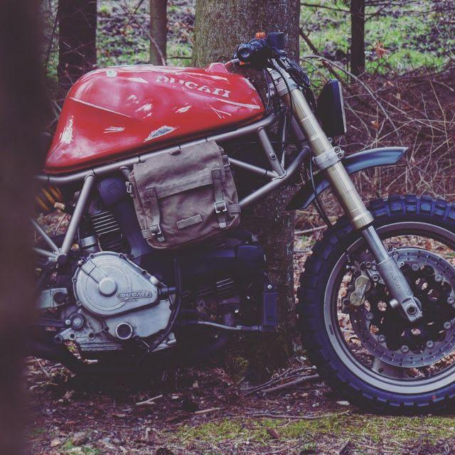 "Ottonero Cafe Racer: Ducati 750SS Scrambler ""El Chapo"""
