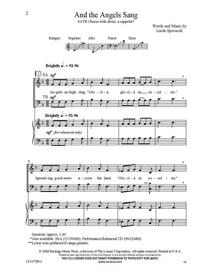 35 best SATB/SAB Christmas images on Pinterest | Sheet music ...