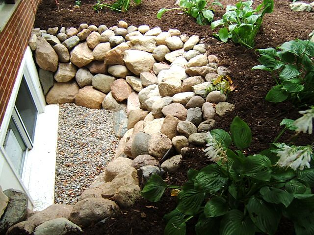 how to build a stone window well