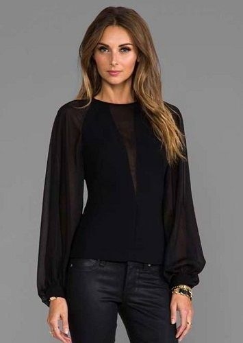 blusas elegantes 201617