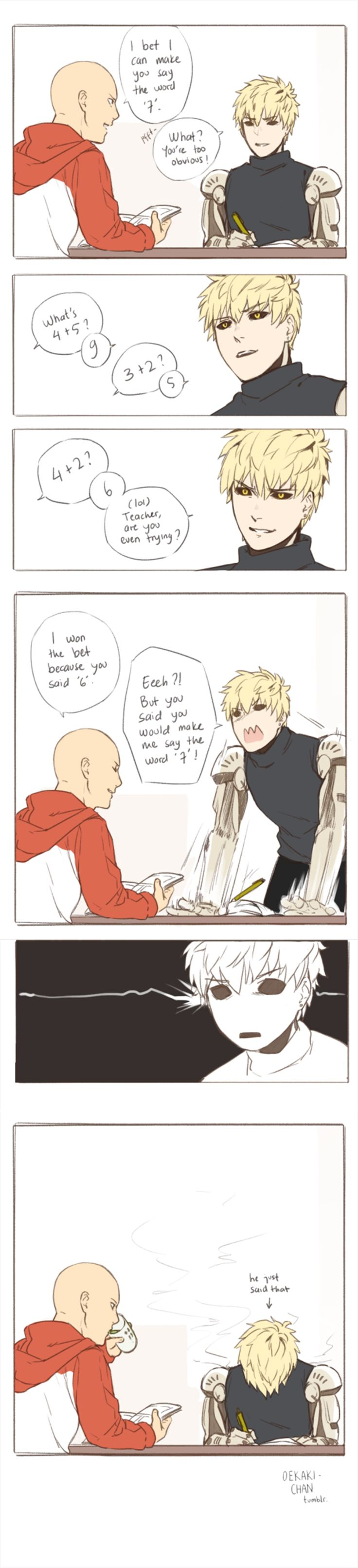 Saigenos/Genosai - One Punch Man