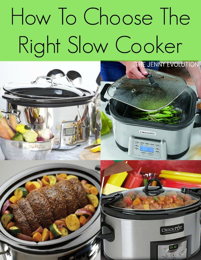 How To Choose The Right Slow Cooker | The Jenny Evolution