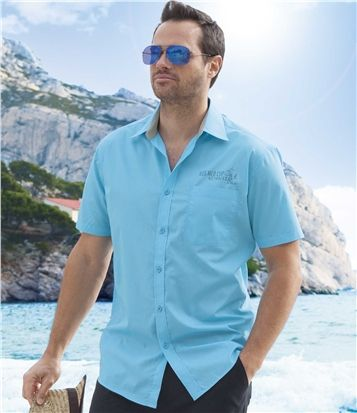 Chemise Turquoise #travel #voyage #atlasformen #formen #discount #shopping #ootd #outfit #formen #hommes #man #homme #men