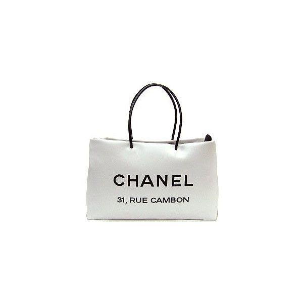 [CHANEL/バッグ] A46882 カーフスキン 横型 ショッパー トートバッグMM ホワイト - FATAG -ファッションカタログ- ❤ liked on Polyvore featuring bags, handbags, chanel, borse, chanel bags, chanel purses and chanel handbags