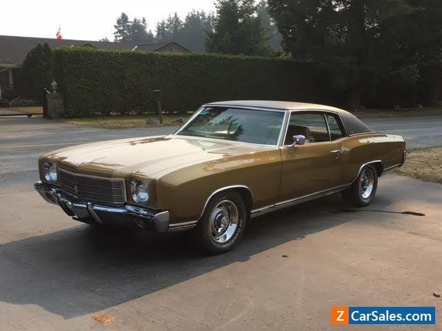 1970 Chevrolet Monte Carlo #chevrolet #montecarlo #forsale #canada