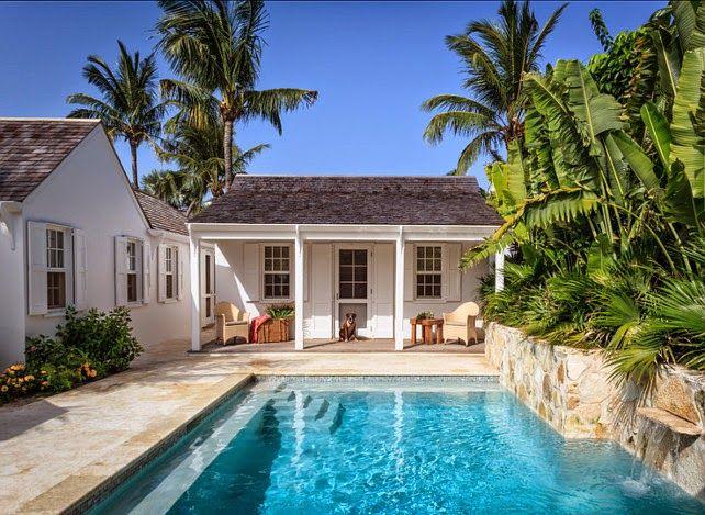 Casa de praia nas Bahamas