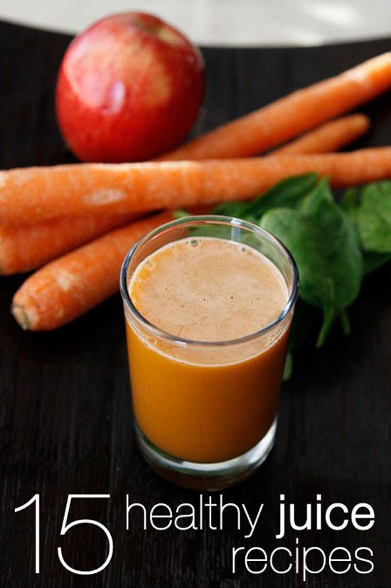 15 Healthy Juice Recipes for the New Year