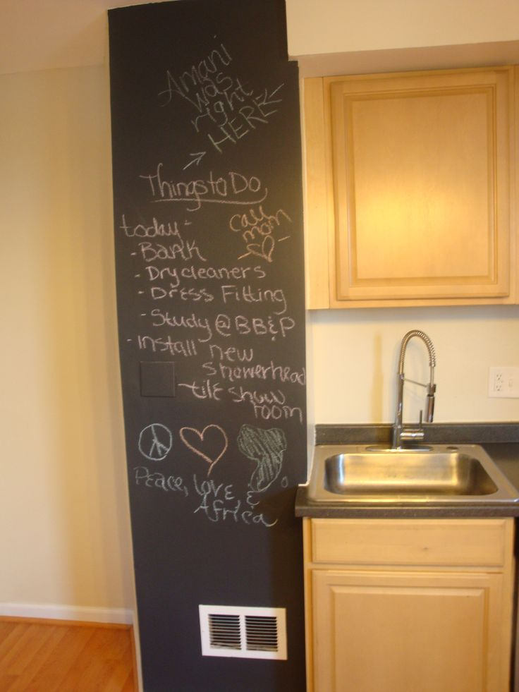 16 best images about trying to convince peter to paint a for Chalkboard paint kitchen ideas