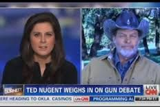 Ted Nugent's Interview With CNN's Erin Burnett