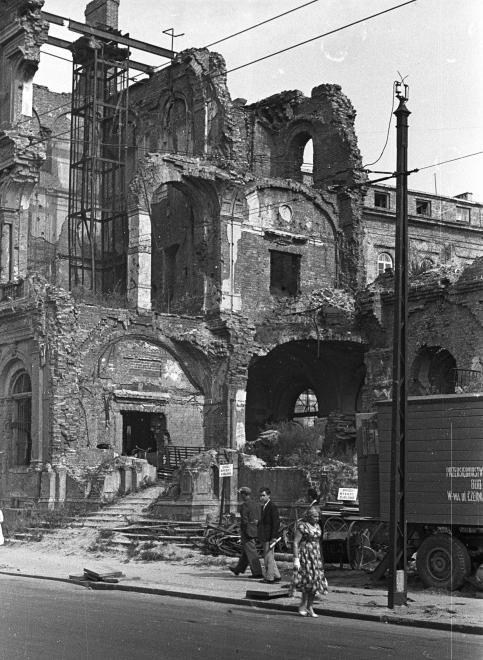 Warszawa - ulica Kredytowa (1958)