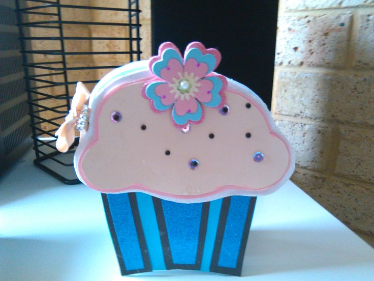 Cupcake Card I made for a friend!