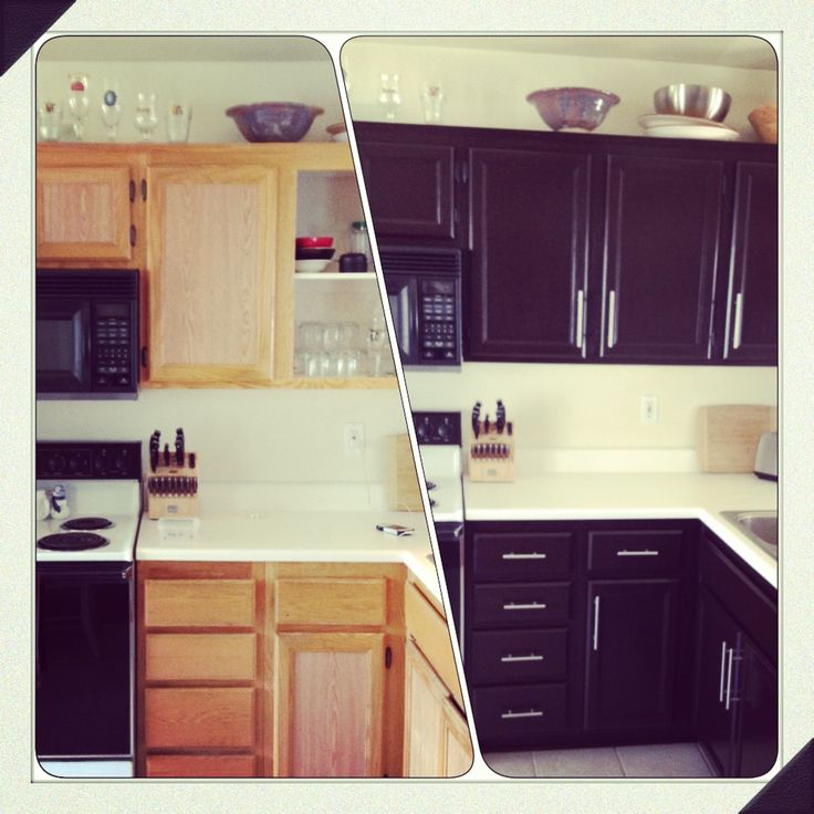 Diy kitchen cabinet makeover home decor pinterest to for Simple diy kitchen ideas