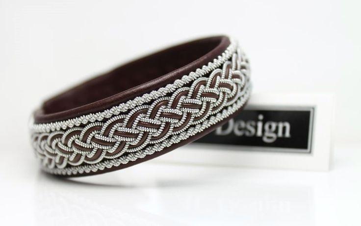 AC Design Sami bracelet in reindeer leather. www.acdesign.se #acdesign