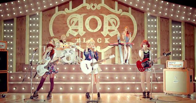 """AOA Black releases Music video """"Moya"""" (모야)"""