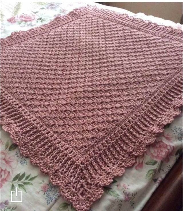 C2c With Border By Robyn Motick Also Pinned Blanket