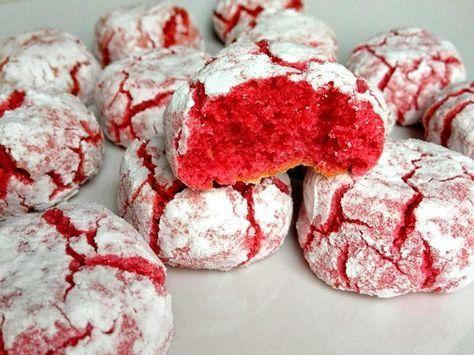 Craquelés aux biscuits roses de Reims au Thermomix