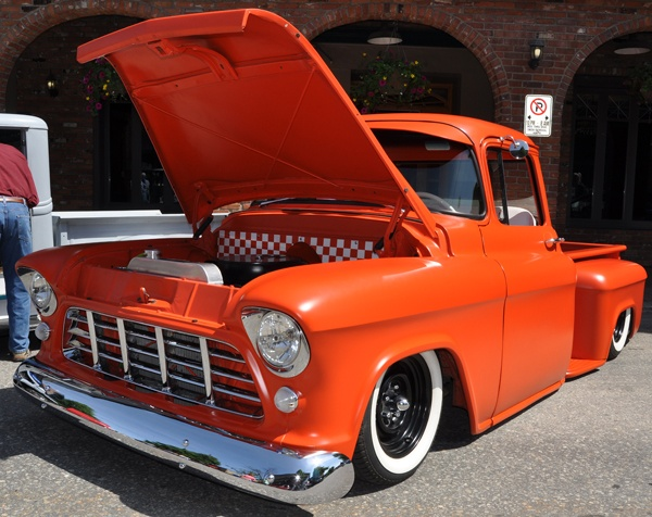 1955 Chevy (this truck belongs to a friend of mine)