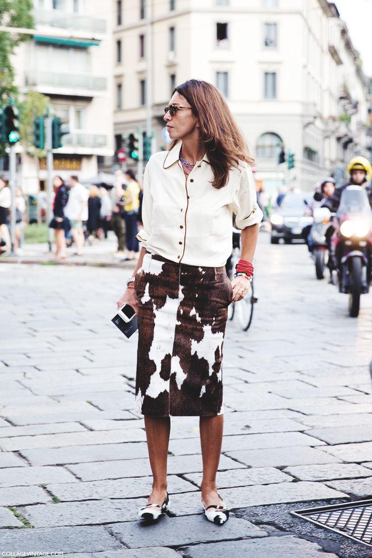 New_York_Fashion_Week_Spring_Summer_15-NYFW-Street_Style-Viviana_Volpicella-Cow_Skirt-
