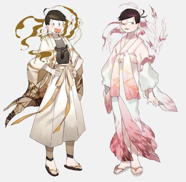 Jyushimatsu and Todomatsu