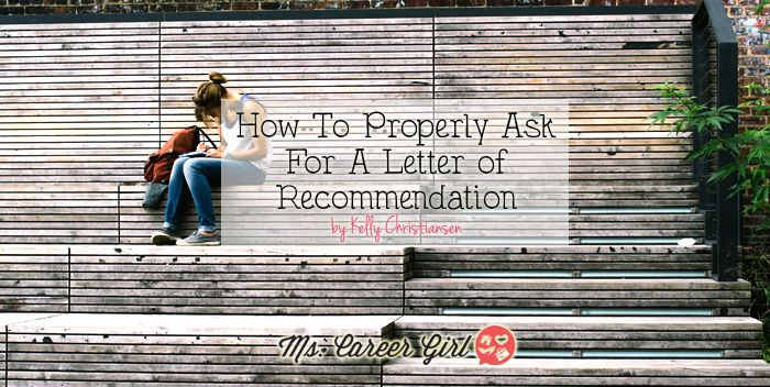 How To Ask For A Letter of Recommendation #career #advice