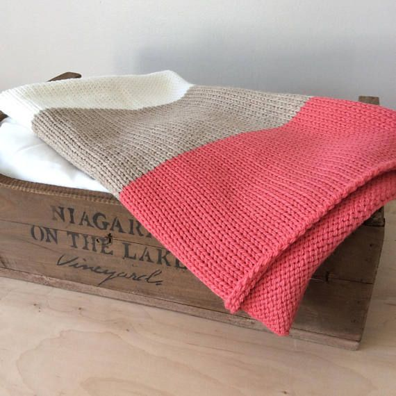 This is a fun baby blanket that will brighten up your little ones stroller! Each blanket was designed to be a light but cozy choice. This blanket was hand knit using a blend of soft peruvian highland wool and alpaca yarn. It is a naturally spun yarn, free of chemical processing, perfect for babies and toddlers. It is my belief that each baby is a gift to be celebrated. All of my blankets are quality pieces to serve your family as a lasting keepsake. Enjoy! Size: 33 x 22 (84 cm x 56cm)…