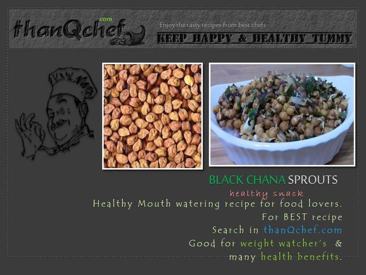 Black Chana Sprouts Fry   YUMMY Indian Stye