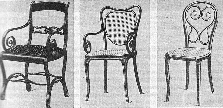 Boppard armchair, armchair, solid rods chair