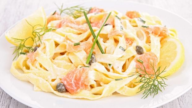 Capers, dill and salmon are always a winning combination and when it comes with a creamy pasta base, you know you're onto a delicious dish.