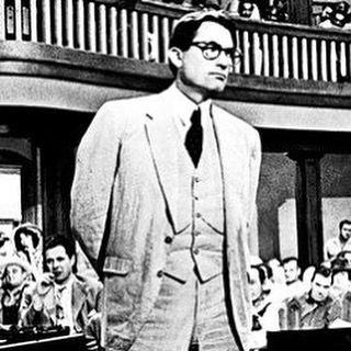 """""""The one thing that doesn't abide by majority rule is a person's conscience."""" Atticus Finch, To Kill a Mockingbird by Harper Lee"""
