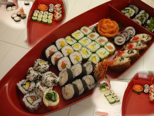 sushi de acelga