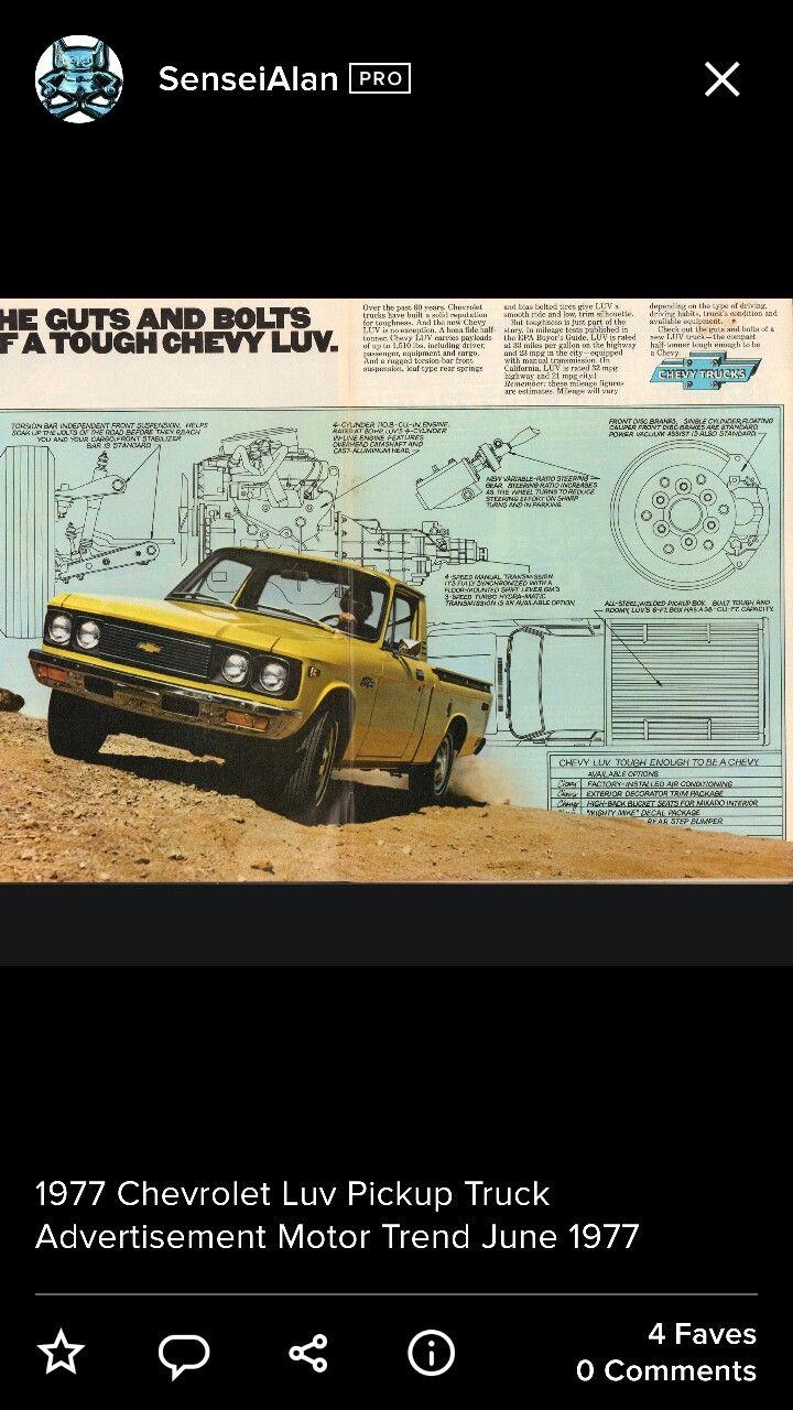 1977 Chevrolet Luv