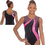 The Zone Scribble Gymnastics Leotard new for Spring 2014 collection in stock now at Dancemania