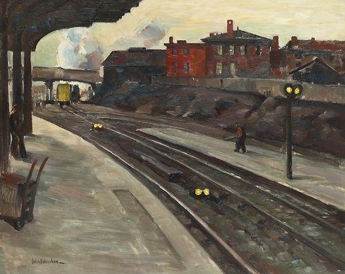 blastedheath: John Fulton Folinsbee (American, 1892-1972),...