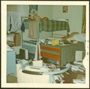 Wonderful Lindley Hall Dorm Room, 1967, Ohio University Archives. Part 15