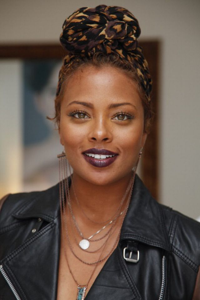 Celebrities in Purple Lipstick: Would You Try This Trend?: Eva Marcille
